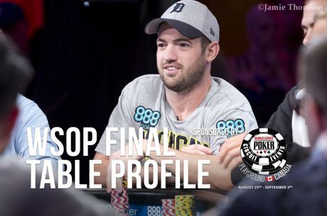 WSOP Main Event Final Table Profile: Joe Cada