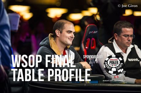 WSOP Main Event Final Table Profile: Antoine Labat