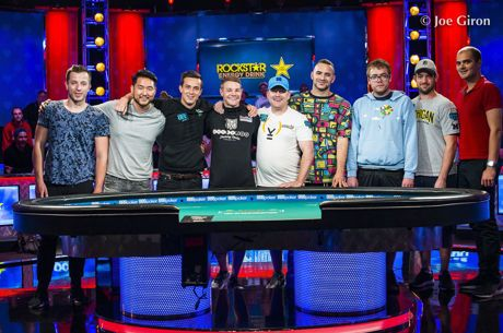 Mesa Final do Main Event das World Series of Poker já está Definida