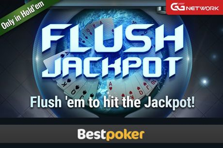 Win Big Even if You Fold in the Flush Jackpot at BestPoker