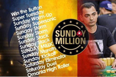 Virgil Marculescu 'vidi.pkr' face INCA O masa finala Sunday Million (7/24.589$)