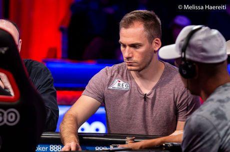 2018 WSOP (38) - Bonomo met enorme chiplead bij laatste zes van $1.000.000 Big One for One Drop...