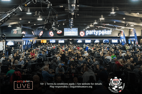 CAD$50,000 Last Longer at the WSOP-C Playground Main Event