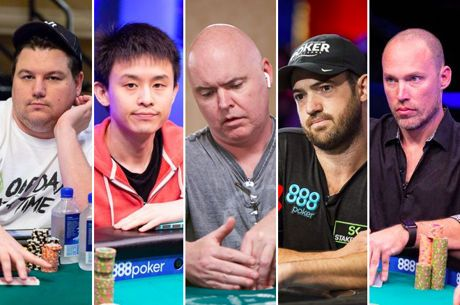 Top Five Players of the 2018 World Series of Poker