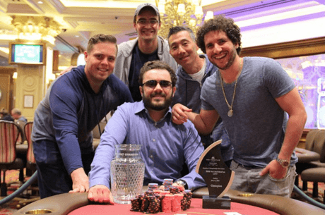 Running Jacks Help Anthony Zinno Take Down CPPT Venetian for $466,670