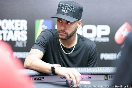 Neymar 4º em Fichas no High Roller do BSOP São Paulo