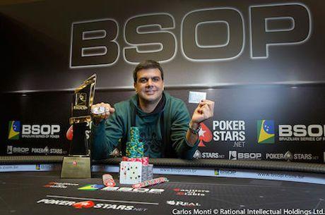 Victor Nicolato Conquista Main Event do BSOP São Paulo - R$ 581,900