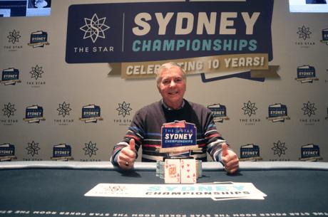 John Thompson Wins the Sydney Championships $5K Challenge (A$195,000)