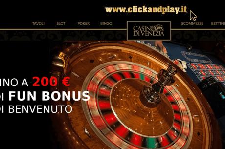 Qualificazioni Online Al Torneo Black Jack Del 15 Settembre Al Casino' Di Venezia