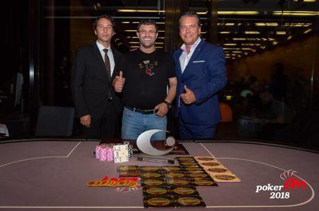 SHR EM European Poker Championship : Leon Tsoukernik gagne après 7 bullets (370.000€)