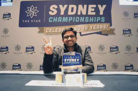 Kumar A Wins the Sydney Championships Monster Stack (A$77,093)