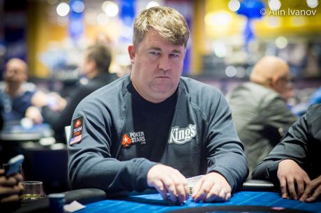 Jonathan Little Tries to Trap Chris Moneymaker