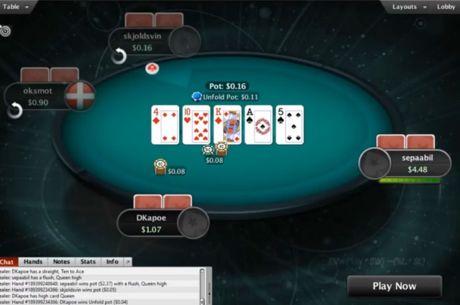 Нова щуротия от PokeStars - Unfold Hold'em кеш игра