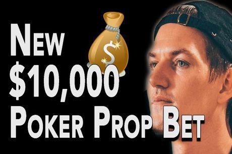 Joey Ingram tem Mais Uma Prop Bet de $10,000 e Pede Ajuda