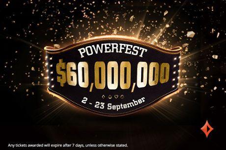 partypoker Announces Four POWERFEST Promotions