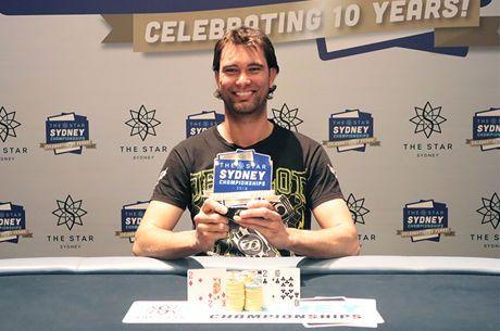 Matthew Howearth Wins the Star Sydney Championships A$1,650 Omaha (A$41,283)
