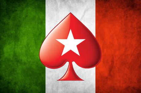 PokerStars Continua a Prever Itália na Liquidez Partilhada em 2019