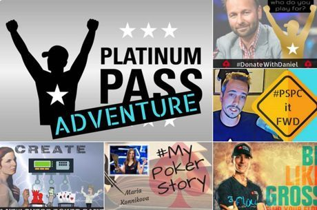 Get Creative to Win Platinum Passes from PokerStars Ambassadors