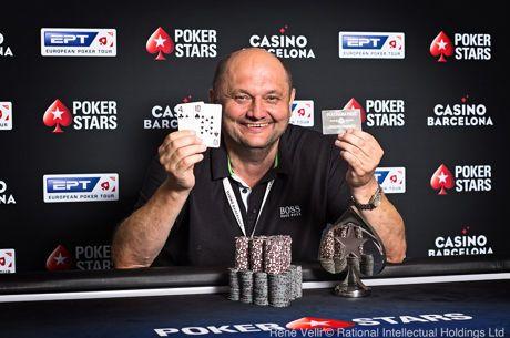 Dariusz Paszkiewicz wygrywa EPT Cup  (€157,550) oraz Platinum Pass