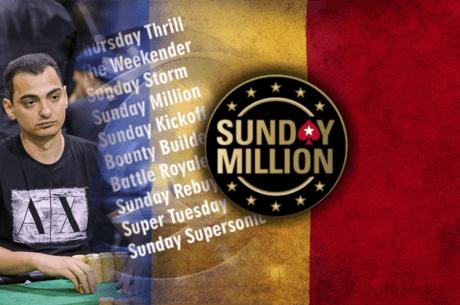 Virgil Marculescu 'vidi.pkr' ajunge a patra oara la masa finala Sunday Million si o castiga!