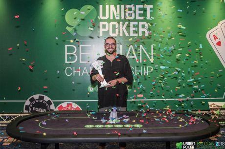 Christophe De Meulder Wins the Unibet Poker Belgian Championship