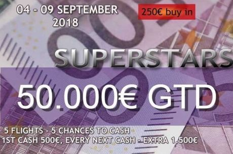 Live updates από το Finix Superstars September 2018