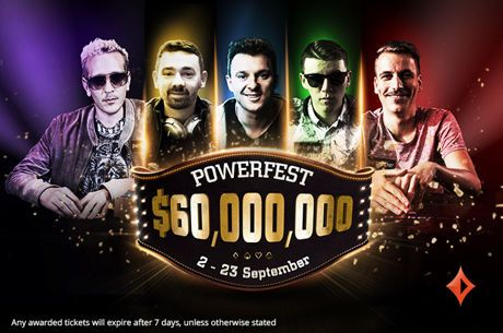 POWERFEST and WCOOP Award Some Huge Prizes During First Week