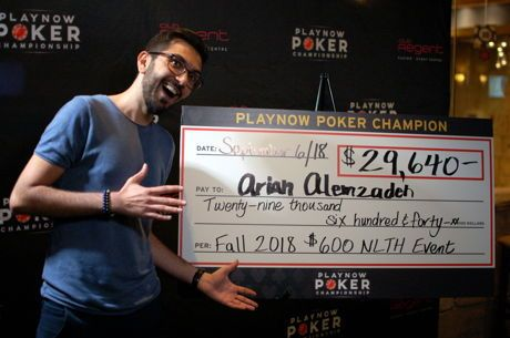 Arian Alemzadeh Scores First PNPC Ring