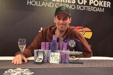 WSOP Circuit Holland : Le Main Event pour Tobias Peters, un Français sur le podium
