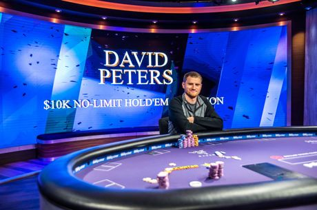 David Peters gana el Evento #1 $10K No-Limit Hold'em del Poker Masters 2018