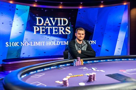 David Peters in poll position la Poker Masters dupa victoria in primul high roller al seriei