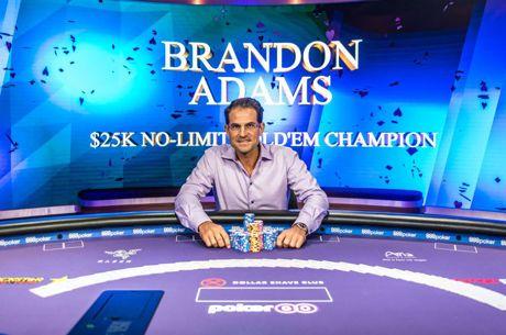 Brandon Adams, lector la Harvard si highroller, castiga turneul 2 Poker Masters si 400.000$