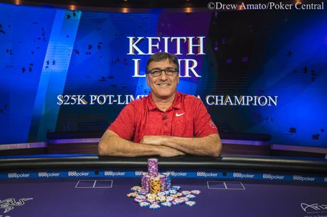 Keith Lehr Campeão do Evento #3: $25,000 PLO do Poker Masters ($333,000)