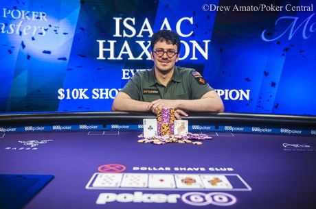 Isaac Haxton Vence Evento #4: $10,000 Short Deck do Poker Master