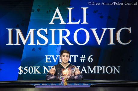 Ali Imsirovic Goes Back-to-Back w/ Poker Masters Event #6 $50K NLH Win