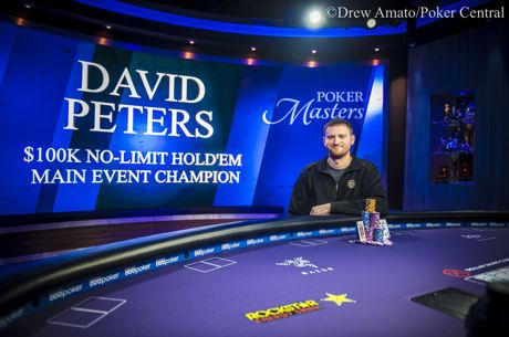 David Peters Wins 2018 Poker Masters Main Event ($1,150,000)
