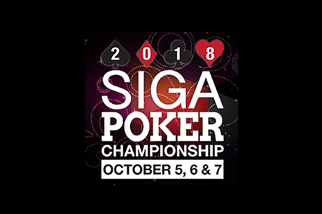 Estimated $240K in Prizes at 2018 SIGA Poker Championship in October