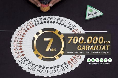 Au inceput calificarile online pentru festivalul aniversar PokerFest, pe Unibet Poker!