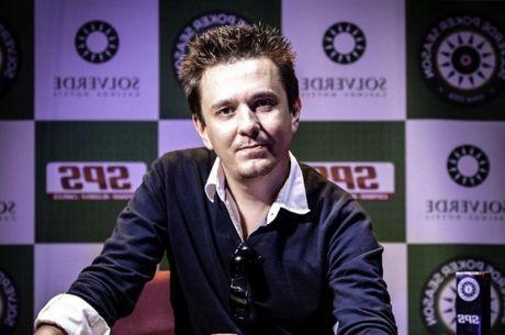 Campeão da Etapa #7 da Solverde Poker Season foi Dmitri Osipov (€6,921)
