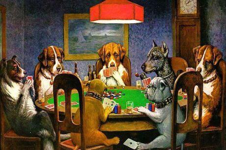 Povestea din spatele faimoaselor tablouri cu caini jucand poker