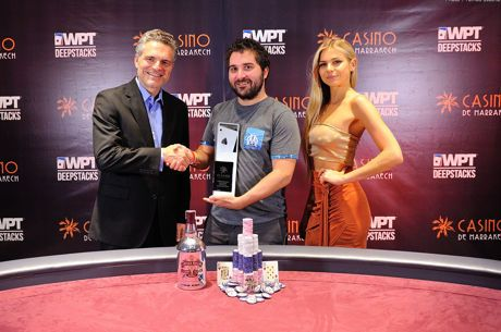 François Tosques Wins the 2018 WPTDeepStacks Marrakech