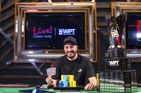 WPT Maryland: Tony Ruberto do drugega WPT naslova kariere