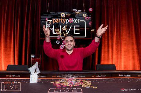 Ο Χρήστος Ξανθόπουλος κατακτά το Mix Max του Partypoker Millions...