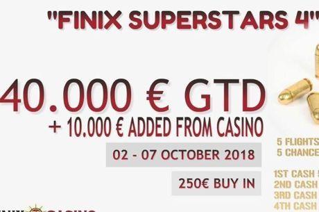 Live updates από το Finix Superstars October 2018