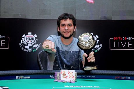 Jordan Piva Crava Main Event da WSOP Brazil Rio e Recebe R$ 1 Milhão