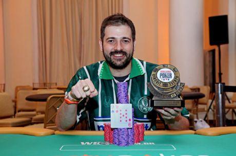 "Marco ""Salsicha"" Alves Vence High Roller da WSOP Brazil (R$ 390,000)"