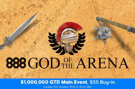 888poker Acolhe Main Event com $1 Milhão do God Of The Arena a 14 de Outubro