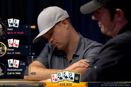 Triton Short Deck Cash Game : Tom Dwan dégringole, Rui Cao de retour