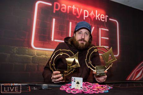 Steve O'Dwyer Vence High Roller do partypoker LIVE MILLIONS UK