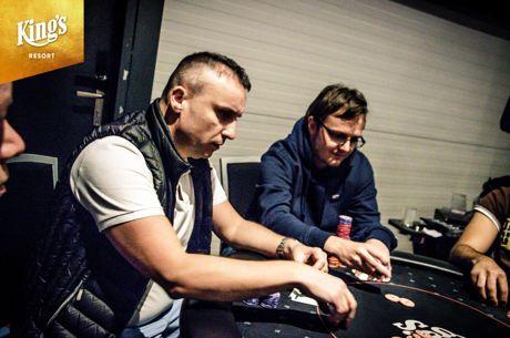 Dariusz Glinski Lidera Dia 1A do Colossus das WSOP Europe